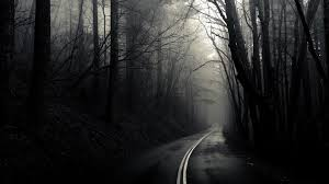 Upon the Dimly LitRoad